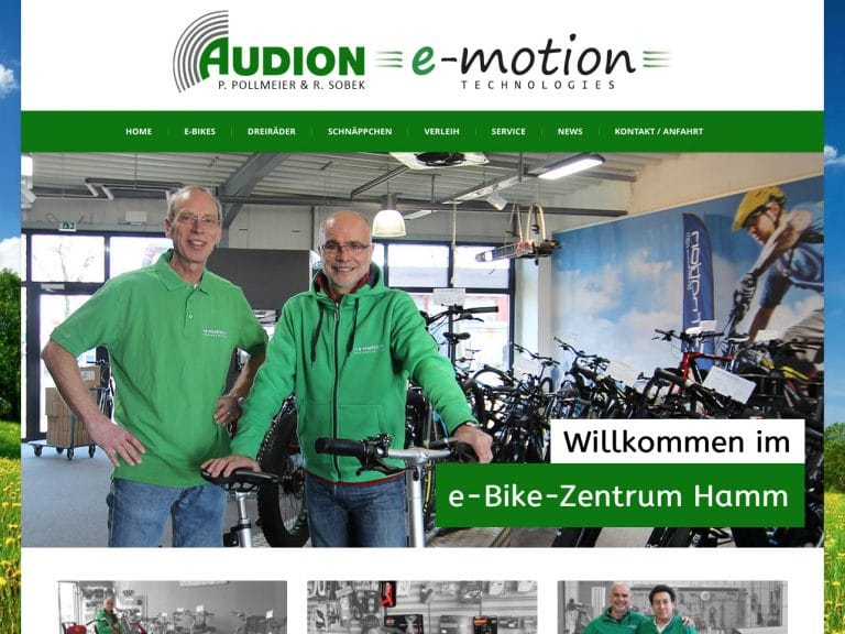 Screen audion-hamm.de
