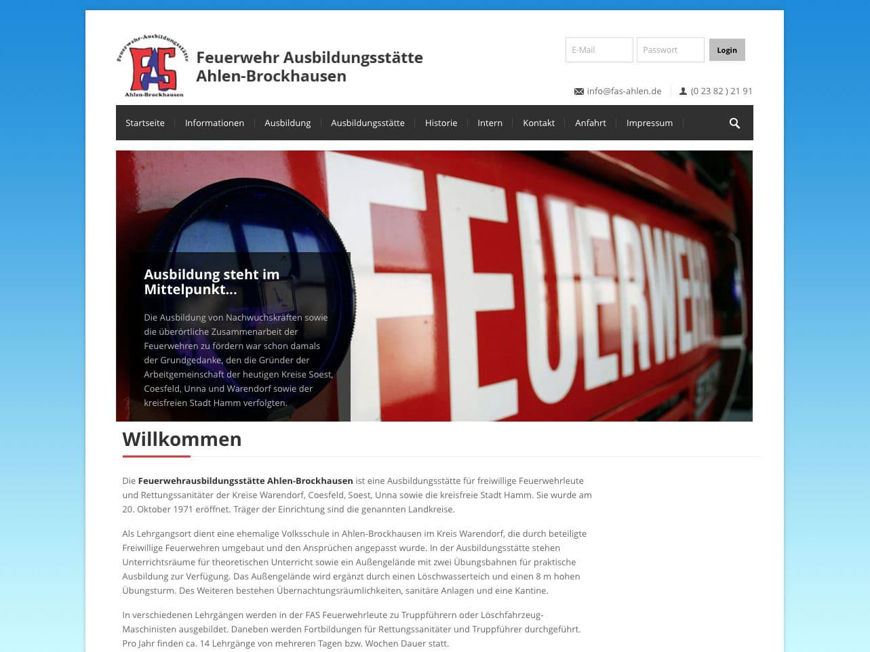 Screen fas-ahlen.de