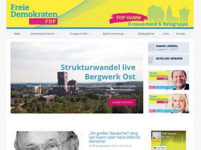 Screen fdp-hamm.de