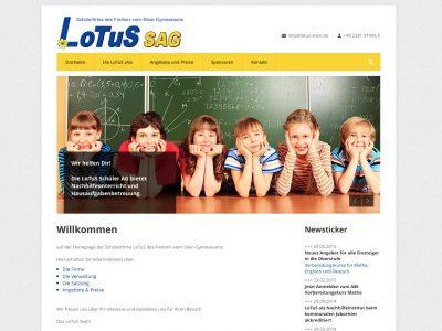 Screen lotus-stein.de