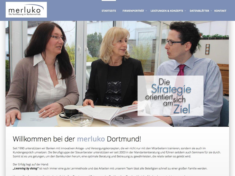 Screen merluko.de