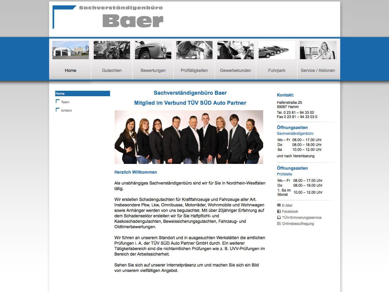 Screen schadenbaer.de