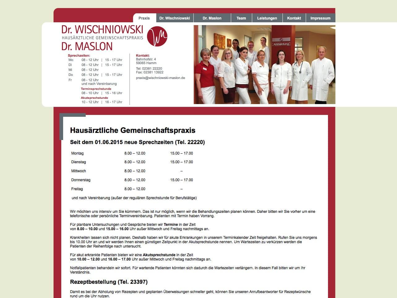 Screen wischniowski-maslon.de
