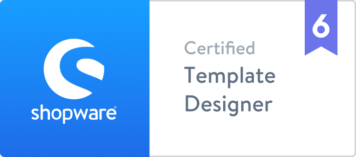 Certified Shopware 6 Template Designer